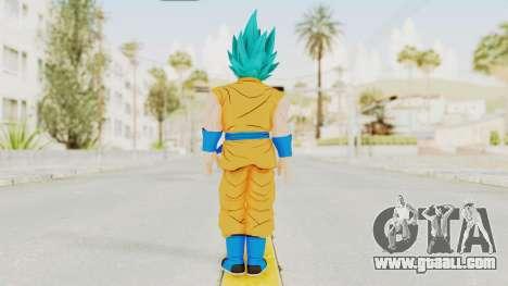 Dragon Ball Xenoverse Goku SJ for GTA San Andreas third screenshot
