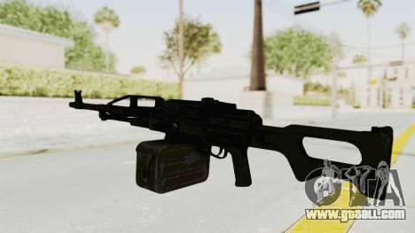 PKM 7.62mm Battlezone Mod for GTA San Andreas second screenshot