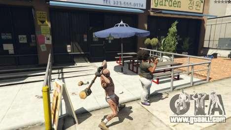 GTA 5 Wooden Fantasy Hammer sixth screenshot
