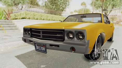 GTA 5 Declasse Sabre GT2 A IVF for GTA San Andreas