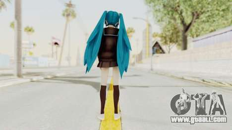 Project Diva F2nd - Hatsune Miku (Rolling Girl) for GTA San Andreas third screenshot