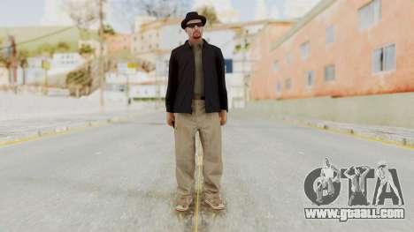 Walter White Heisenberg v1 GTA 5 Style for GTA San Andreas second screenshot