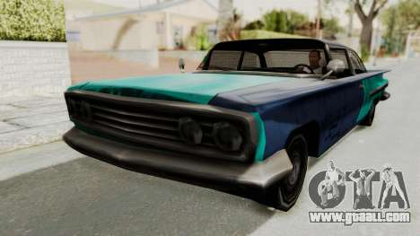 Beater 1962 Voodoo for GTA San Andreas back left view