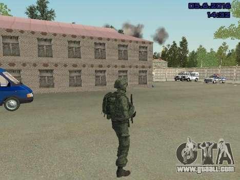 Modern Russian Soldiers pack for GTA San Andreas sixth screenshot