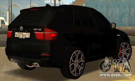 BMW X5M for GTA San Andreas right view