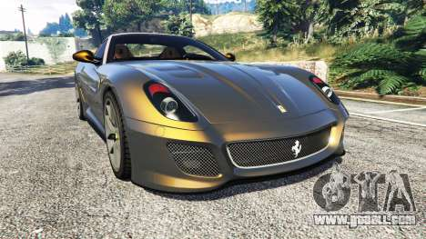 Ferrari 599 GTO for GTA 5