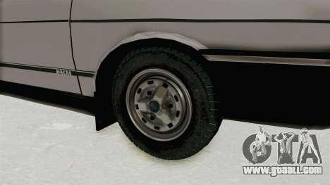 Dacia 1310 TX 1986 for GTA San Andreas back view