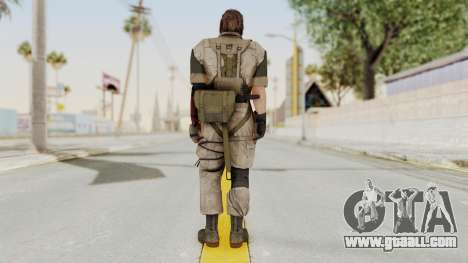 MGSV The Phantom Pain Venom Snake No Eyepatch v3 for GTA San Andreas third screenshot