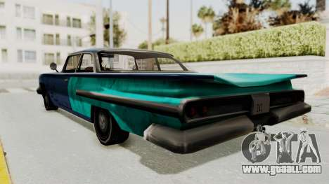 Beater 1962 Voodoo for GTA San Andreas left view