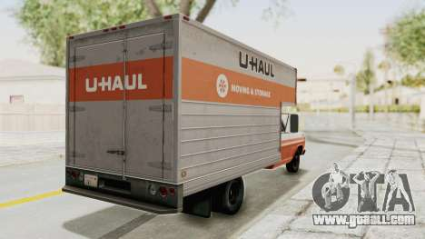 Ford F-350 U-Haul 1971 IVF for GTA San Andreas right view