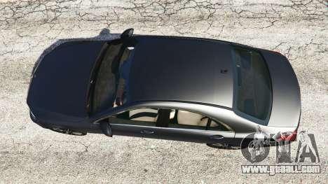 GTA 5 Mercedes-Benz S500 (W222) [michelin] v2.1 back view