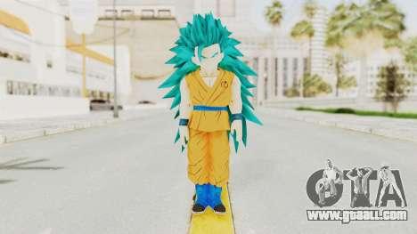 Dragon Ball Xenoverse Gohan Teen DBS SSGSS3 v2 for GTA San Andreas second screenshot