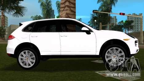 Porsche Cayenne 2012 for GTA Vice City left view