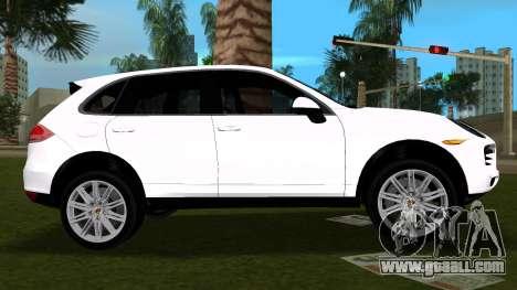 Porsche Cayenne 2012 for GTA Vice City left view