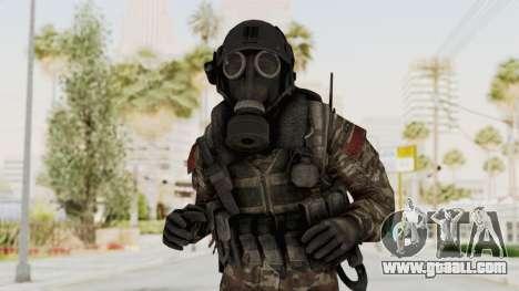 CoD MW3 Russian Military SMG v3 for GTA San Andreas