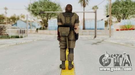 MGSV The Phantom Pain Venom Snake Olive Drab for GTA San Andreas third screenshot