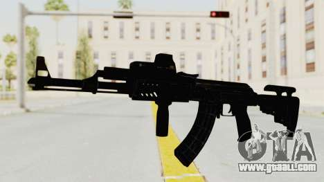 AK-47 Tactical for GTA San Andreas second screenshot