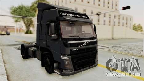 Volvo FM Euro 6 4x2 v1.0 for GTA San Andreas back left view