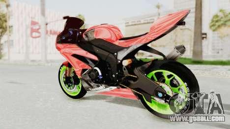 Kawasaki Ninja ZX-6R Boy from Anak Jalanan for GTA San Andreas left view
