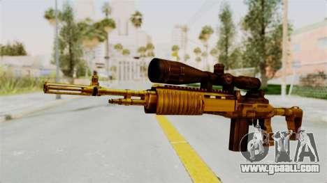 M14EBR Gold for GTA San Andreas
