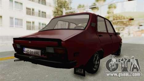 Dacia 1310 TX Realistica for GTA San Andreas left view