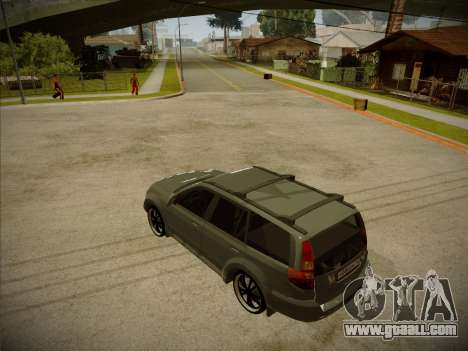 Great Wall Hover H2 2008 for GTA San Andreas left view