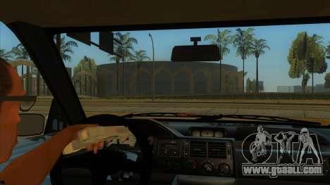 Ford Escort V2 for GTA San Andreas inner view