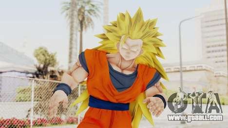 Dragon Ball Xenoverse Goku SSJ3 for GTA San Andreas