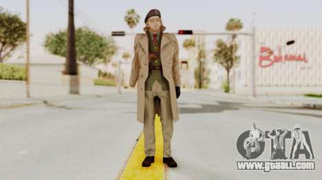 MGSV TPP Kazuhira Miller Motherbase for GTA San Andreas second screenshot