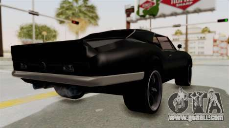 Chevrolet Camaro SS 1968 for GTA San Andreas left view