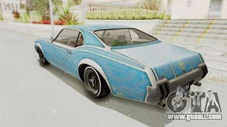 GTA 5 Declasse Sabre GT2 A IVF for GTA San Andreas