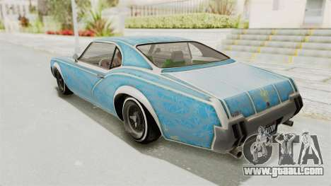 GTA 5 Declasse Sabre GT2 for GTA San Andreas wheels