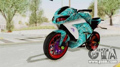 Kawasaki Ninja 250FI Stunter for GTA San Andreas