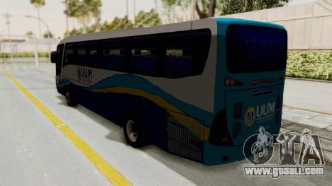 Marcopolo UUM Bus for GTA San Andreas left view