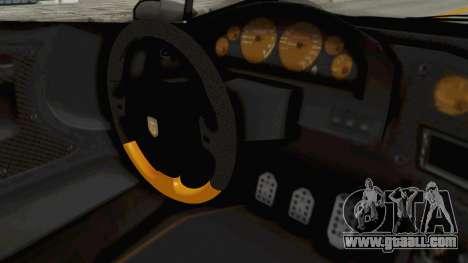 GTA 5 Pegassi Zentorno PJ for GTA San Andreas inner view