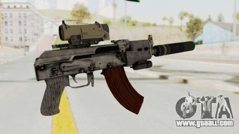 Combat SMG for GTA San Andreas third screenshot