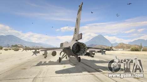 GTA 5 F-16C Block 52 third screenshot