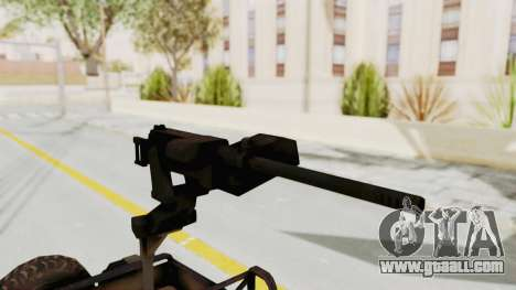 MGSV Jeep for GTA San Andreas back view