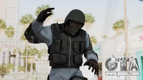 Batman Arkham Origins Swat for GTA San Andreas