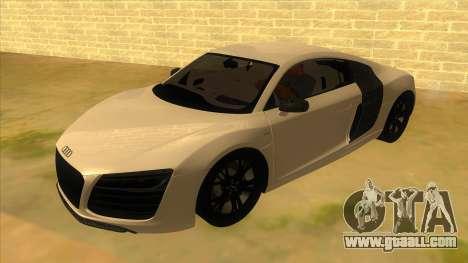 Audi R8 5.2 V10 Plus for GTA San Andreas