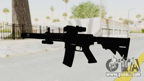 Colt M4 CQB S.W.A.T. for GTA San Andreas second screenshot