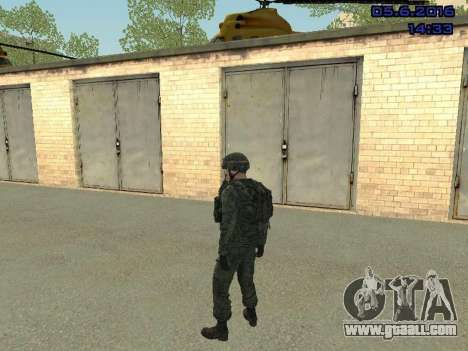 Modern Russian Soldiers pack for GTA San Andreas seventh screenshot