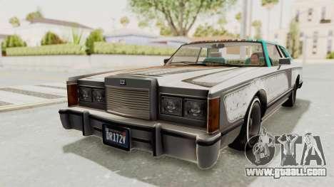 GTA 5 Dundreary Virgo Classic Custom v1 for GTA San Andreas upper view
