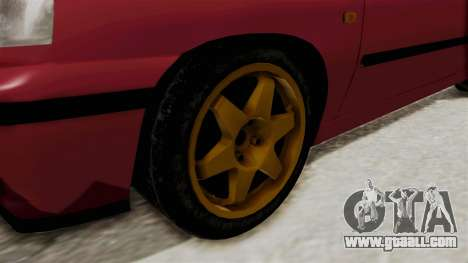Renault Clio Williams for GTA San Andreas back view