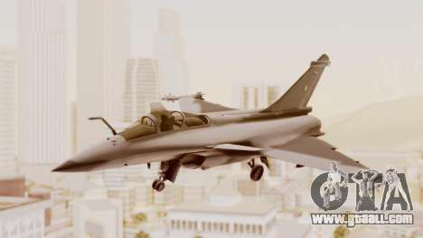 Dassault Rafale Indian Air Force for GTA San Andreas