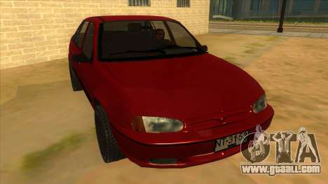 Daewoo Racer GTI for GTA San Andreas back view
