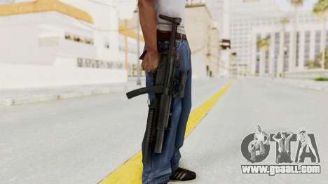 MP5SD with Grenade Launcher for GTA San Andreas third screenshot