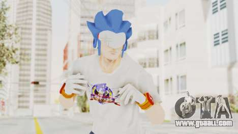 Sonic Man for GTA San Andreas