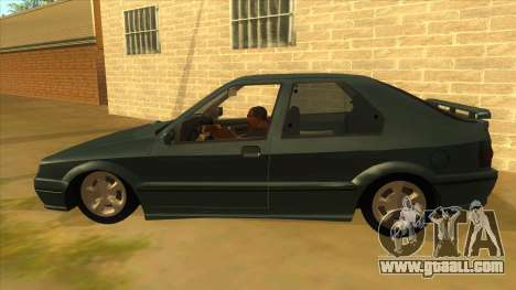 Renault 19 Coupe for GTA San Andreas left view