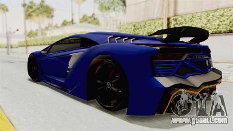 GTA 5 Pegassi Zentorno PJ for GTA San Andreas wheels